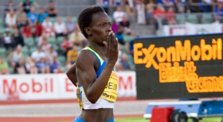 (Pamela Jelimo) Exxon Mobil Golden League Bislett Games 2008 by Ragnar Singsaas via Flickr CC