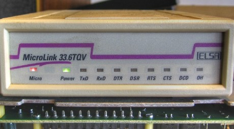 Modem 56K by Markusram via Flickr CC