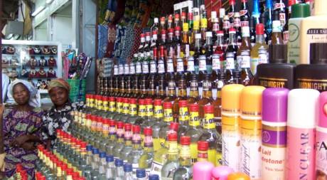Marché Dantokpa, Cotonou, Bénin. Giulia Marchi (Tous droits réservés)