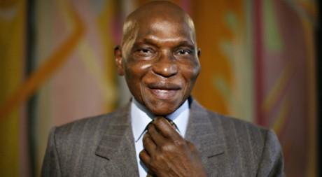 Le président Wade à Dakar en 2008. REUTERS/Finbarr O'Reilly