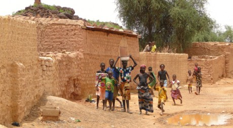 Villagers Gather Near Mosque - Bani - Sahel Region - Burkina Faso, by Adam Jones, Ph.D. via Flickr CC
