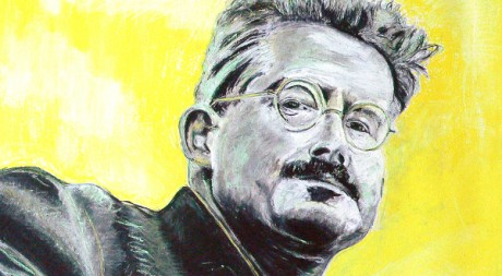 Walter Benjamin, da morto, by bluinfaccia via Flickr CC
