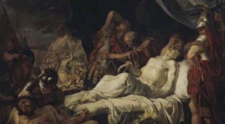 La mort de Pélopidas, par Andrey Ivanov (1805_1806)