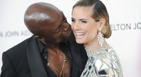 Le mannequin Heidi Klum a fait la Une de Elle avec son mari Seal. Ici à Los Angeles en février 2011. Reuters/Gus Ruelas