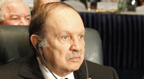 Abdelaziz Bouteflika à un sommet de la Ligue arabe le 19 janvier 2011 en Egypte. Reuters/Asmaa Waguih