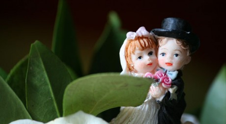Mariage de figurines by dnartreb89 via Flickr CC