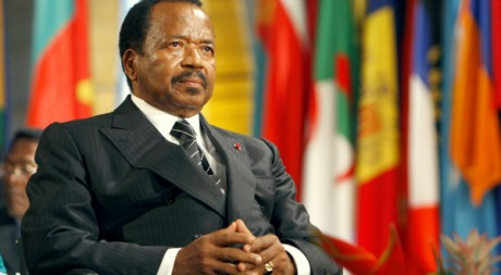 Le président du Cameroun Paul Biya à Paris en octobre 2007. REUTERS/POOL New