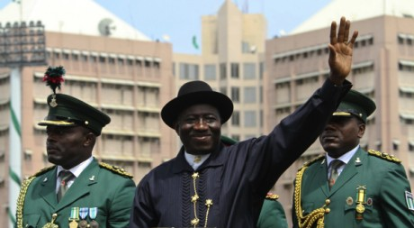 Le président nigérian Goodluck Jonathan, Abuja, le 1er octobre 2010. REUTERS/Afolabi Sotunde