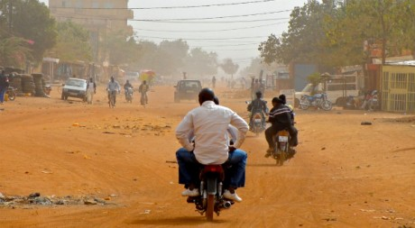 Dust Road (Ouagadougou), by attawayjl via Flickr CC