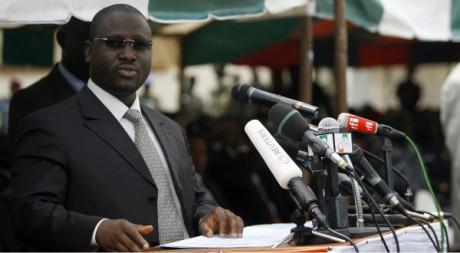 Guillaume Soro à Bouaké, le 26 avril 2009. REUTERS/Luc Gnago