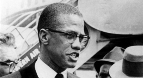 Malcolm X à New York en mai 1963, AFP.