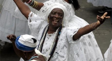 Célébrations du Jour de la Baiana à Salvador, en novembre. REUTERS/Paulo Whitaker