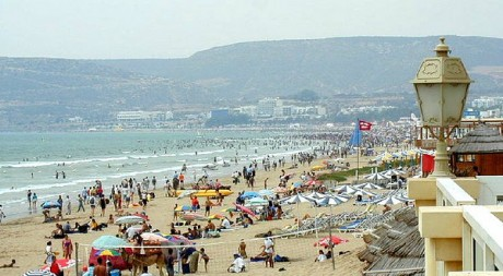 La plage d'Agadir by Joao Maximo via Flickr CC