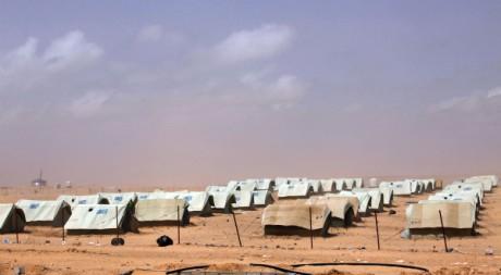 Un camp de réfugiés libyens construit par l'armée tunisienne à Shousha, le 2 juin 2011. REUTERS/Youssef Boudlal