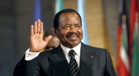 Paul Biya, lors d'une conférence de l'Unesco à Paris. Octobre 2007. REUTERS/Pool New