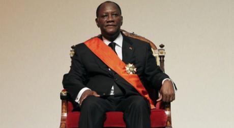 Investiture du président ivoirien Alassane Ouattara, 21 mai 2011, Yamoussoukro. REUTERS/Luc Gnago