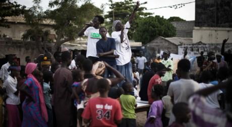 Un concert du collectif Y en a marre, près de Dakar, Sénégal, le 18 juin 2011. REUTERS/Finbarr O'Reilly