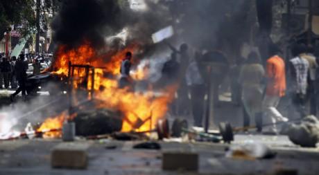 Manifestations à Dakar, le 23 juin 2011. REUTERS/Finbarr O'Reilly