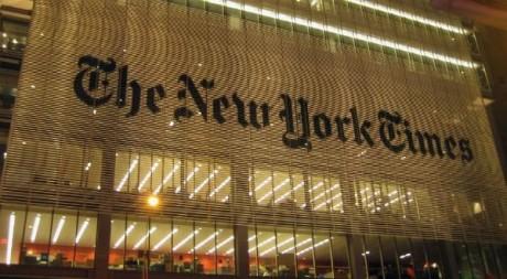 Bureaux du New York Times/ adKinn via Flickr CC