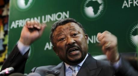 Jean Ping, chef de la Commission de l'Union africaine. Addis Abeba, janvier 2011 © REUTERS/Thomas Mukoya
