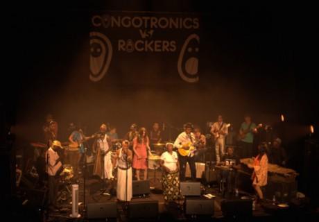 Congotronics vs Rockers au Café de la Danse (Paris), le 9 juillet 2011 © Axel Ducourneau, tous droits réservés.