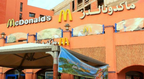 ماكدونالدز - marrakech mcdonalds, by austinevan via Flickr CC