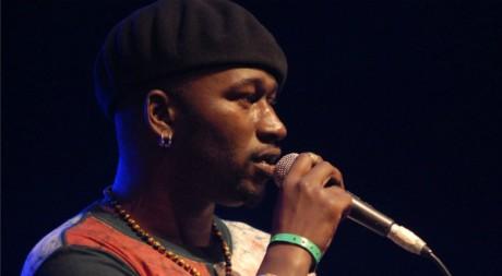 Souleymane Diamanka au festival Africajarc, juillet 2011. © C.Pélaprat/biljara.com