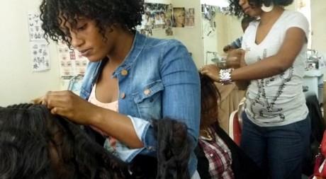 Salon de coiffure cheveux naturels paris