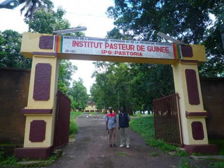 L'institut Pasteur de Guinée, «Pastoria» en soussou. © Fabien Offner, tous droits réservés.