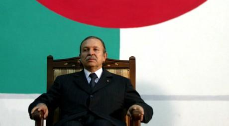 Le président algérien Abdelaziz Bouteflika, le 14 juillet 2003. REUTERS/Zohra Bensemra