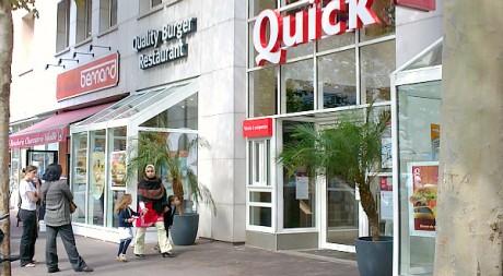 Le Quick d'Argenteuil, le 30 août 2011. © Mehdi Farhat, tous droits réservés.