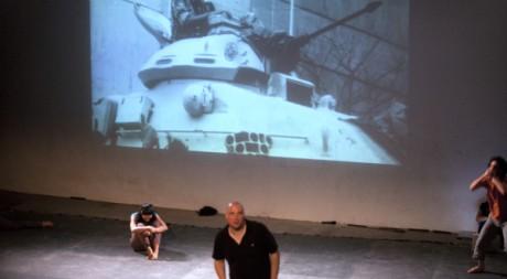 La pièce de théâtre «Lessons in Revolting». © Mauro Guglielminotti, tous droits réservés.