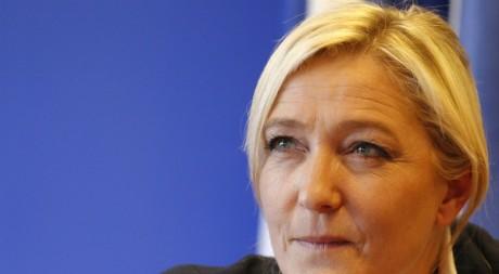 Marine Le Pen, mars 2011. © REUTERS/Benoit Tessier