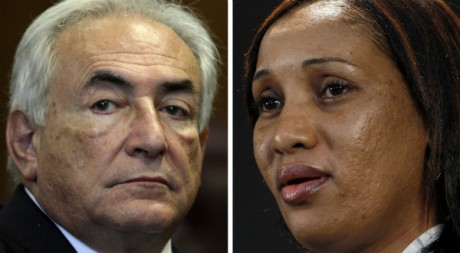 Dominique Strauss-Kahn et Nafissatou Diallo. REUTERS/POOL New