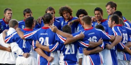 L'équipe de rugby de la Namibie (2007). REUTERS/Philippe Wojazer