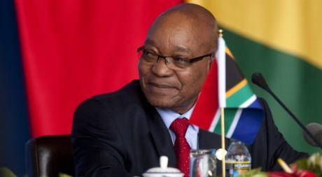 Jacob Zuma, le 14 avril 2011. REUTERS/POOL New