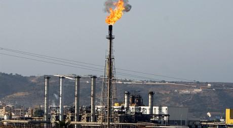 Une vue d'une raffinerie de pétrole liquéfié dans la région de Arzew, en Algérie, juillet 2007. REUTERS/Zohra Bensemra