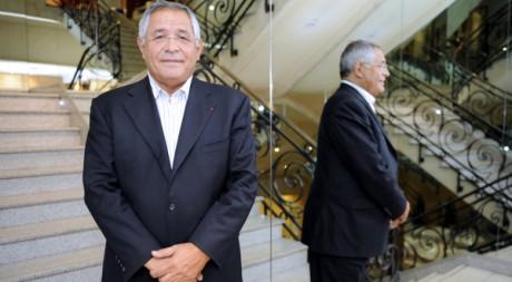 L'avocat Robert Bourgi, le 12 septembre à Paris. AFP/JOHANNA LEGUERRE