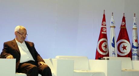 Le leader du mouvement Ennahdha, Rached Ghannouchi, le 14 septembre 2011, à Tunis. REUTERS/Zoubeir Souissi