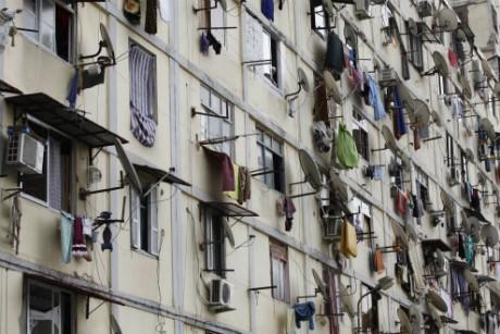 Un immeuble à Alger Louafi Larbi / Reuters