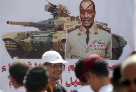 L'armée et son chef Tantaoui, en ligne de mire. Amr Dalsh/ Reuters