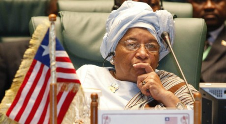 La présidente du Liberia Ellen Johnson Sirleaf, octobre 2010. REUTERS/STR News