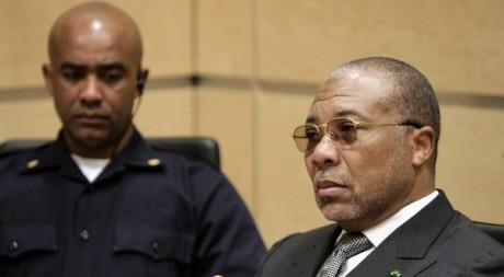 L'ex-président Charles Taylor devant ses juges à La Haye, le 7 janvier 2008. REUTERS/Michael Kooren