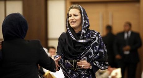 Aicha Kadhafi le 31 août 2010 à Tripoli   STR New / Reuters