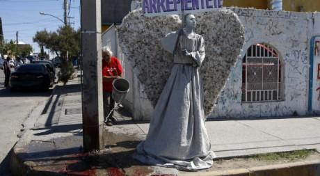Manifestation contre la violence à Ciudad Juarez, le 8 octobre 2011. REUTERS/Jose Luis Gonzalez