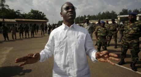 Le Premier ministre Guillaume Soro à Yamoussoukro, le 31 mars 2011. REUTERS/Emmanuel Braun