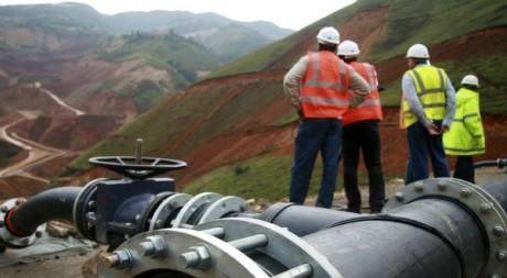 Mine de Twangiza à l'est du Congo, 2011. REUTERS/STRNew