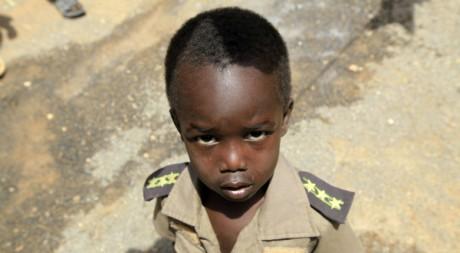 Un enfant originaire de la région du Darfour .Reuters/ Mohamed Nureldin Abdallah