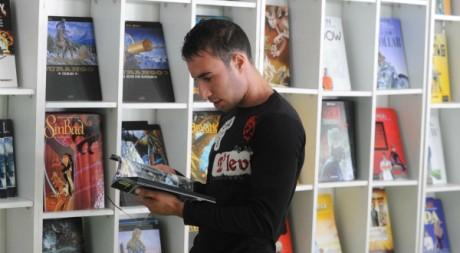 Festival de Bande dessinée à Alger  AFP/FAROUK BATICHE
