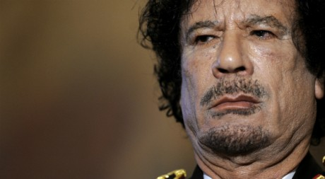 Le colonel Kadhafi, AFP PHOTO/FILIPPO MONTEFORTE